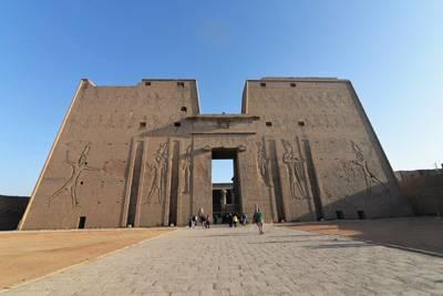 埃及、阿联酋14天游:埃德夫神庙