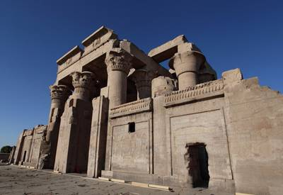 埃及、阿联酋14天游:埃及库姆温布神庙