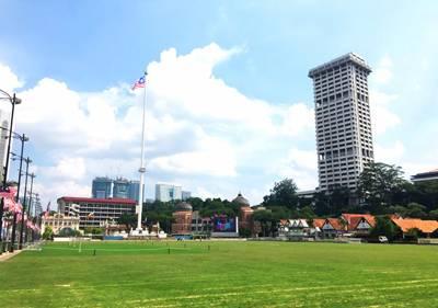沙巴五天游_马来西亚沙巴莫迪卡独立广场