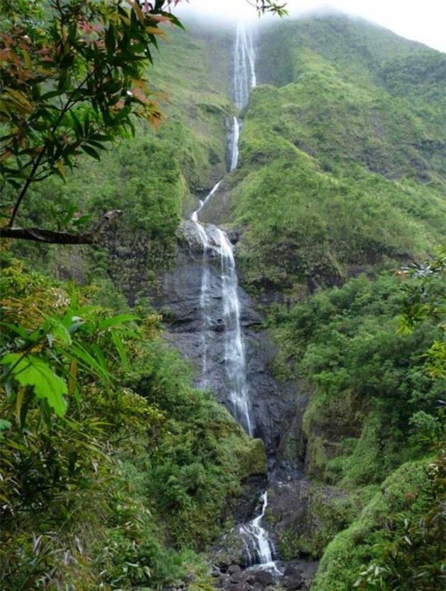 留尼汪岛8天自由行:留尼汪岛,卡斯卡德瀑布(Cascade Blanche)