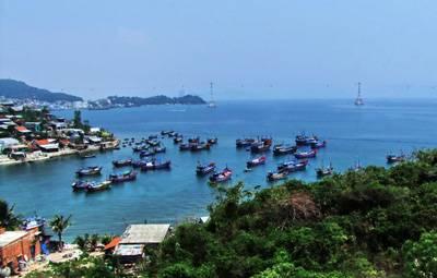 越南芽庄海滨风光