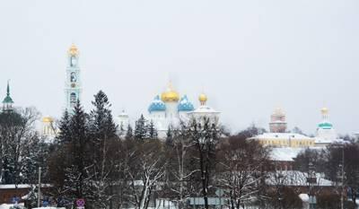 俄罗斯、土耳其全景深度18天游:俄罗斯谢尔盖圣三一教堂