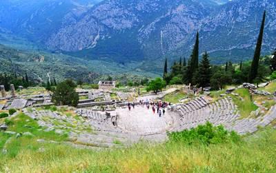 希腊8天游景点:德尔菲博物馆