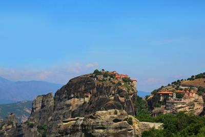 希腊8天游:梅黛奥拉修道院