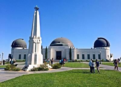 美西雙城+兩大國家公園11天游_美國洛杉磯格里菲斯天文臺