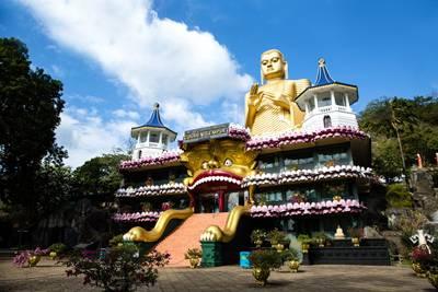 斯里兰卡6天游景点_斯里兰卡丹布勒石窟寺
