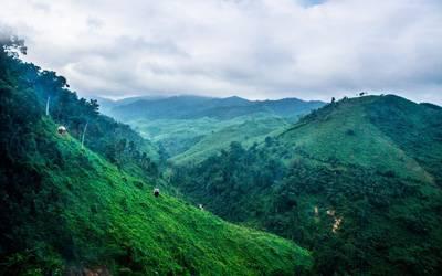 越南岘港-巴拿山