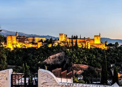 西班牙葡萄牙旅游十日:阿尔罕布拉宫
