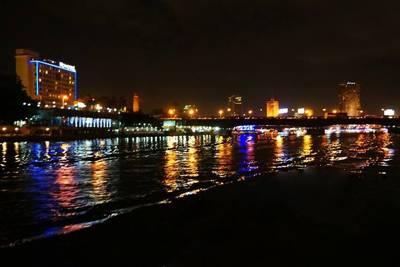 埃及迪拜游_夜游尼罗河