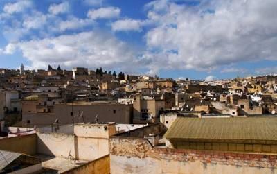 摩洛哥全景12天游_摩洛哥菲斯古城风光