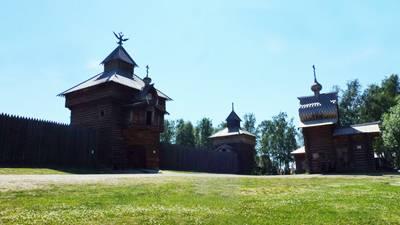 俄罗斯贝加尔湖8日游_俄罗斯伊尔库茨克市-塔利茨露天木制民族博物馆