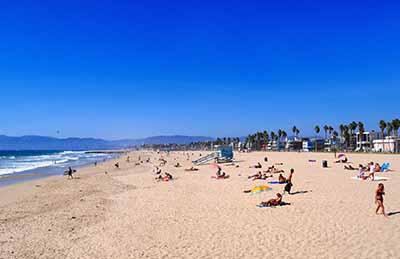 美国十天游_洛杉矶海滩