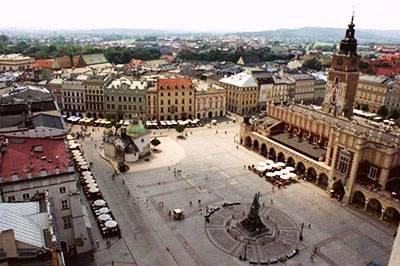 东欧六国游景点-波兰-克拉科夫广场
