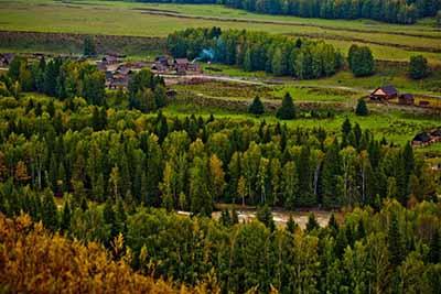 新疆8日游:禾木景区