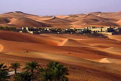 阿联酋七国全景8天游:鲁卜哈利沙漠