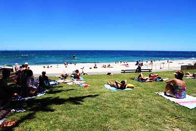 澳洲西澳八天游:澳大利亚-珀斯-科特索海滩