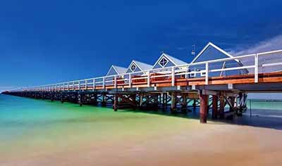 西澳8日游:澳大利亚-巴瑟尔顿栈桥 Busselton Jetty