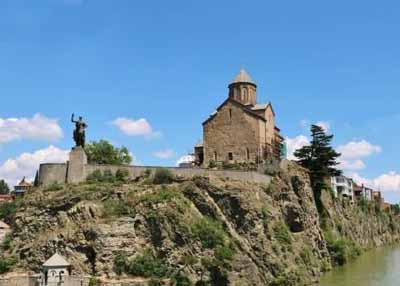 阿塞拜疆 格鲁吉亚 亚美尼亚 三国11日游:格鲁吉亚-三位一体大教堂