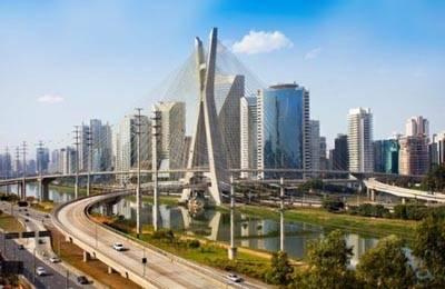 阿根廷首都布宜诺斯艾利斯夜景
