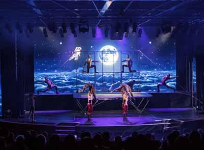 星梦邮轮(DREAM CRUISES)-世界梦号-娱乐盛宴