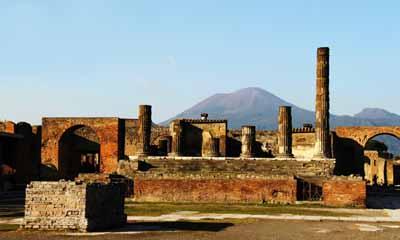 意大利8天深度游:庞贝古城