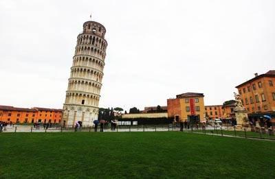 意大利8天深度游:比萨斜塔