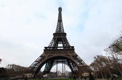 欧洲四国游景点_法国埃菲尔铁塔
