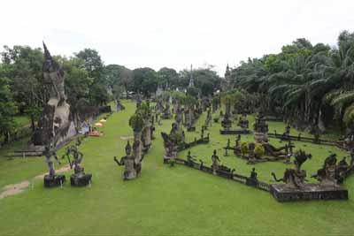 老挝五天游:老挝香昆寺