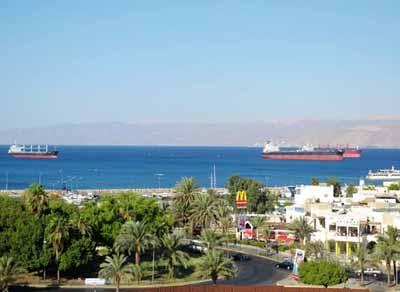 以色列、约旦12天游:约旦亚喀巴海港