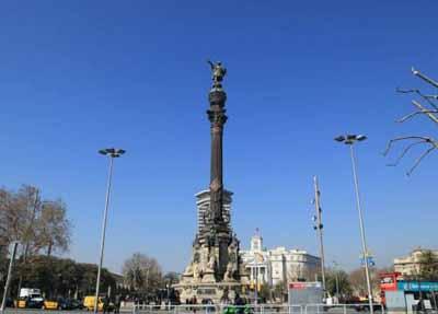 欧洲2国游_欧洲旅游景点:西班牙哥伦布纪念碑