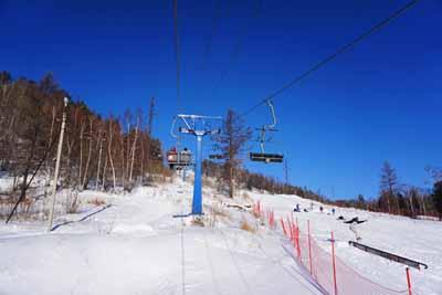 俄罗斯8日游:伊斯特兰滑雪场