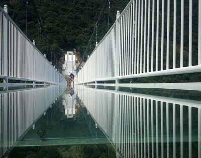 韶关二天游:韶关云门山玻璃桥