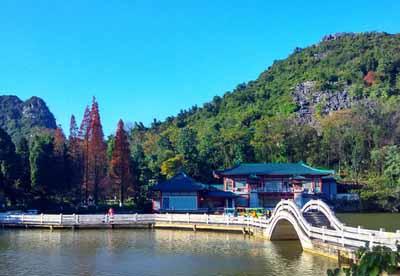 桂林3天游景点_西山公园