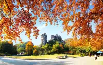 桂林3天游景点_七星公园