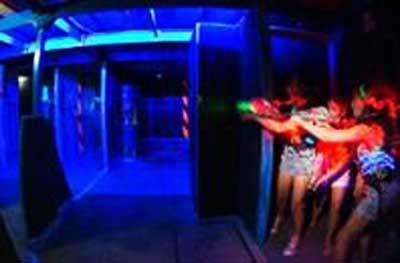 澳洲冬令营14天:激光游戏中心