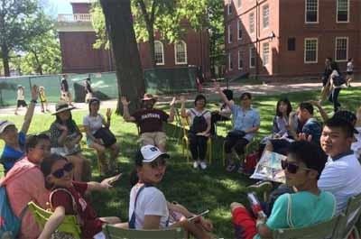 美国哈佛大学冬令营14天:哈佛大学全真名校课堂体验
