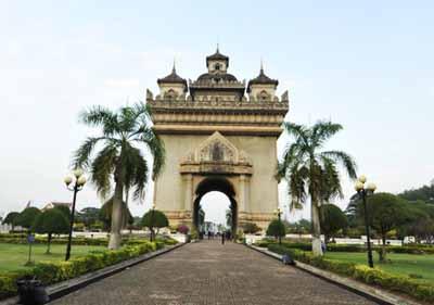 老挝六天游:凯旋门