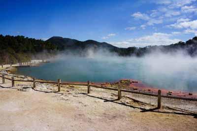 新西兰九天游_新西兰-罗托鲁瓦-地热公园