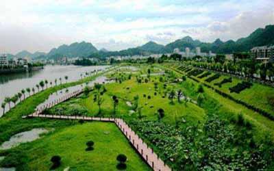 黄山五天游:黄山湿地公园