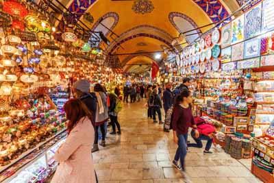 土耳其、摩洛哥18天游:伊斯坦布尔大巴扎集市