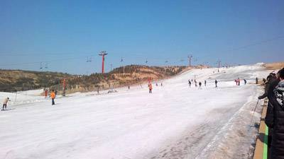 山西5日游:山西九龙滑雪场