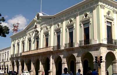 墨西哥10天游:梅里达总督府