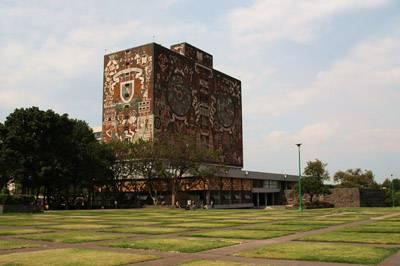 墨西哥10天游:墨西哥国立自治大学城