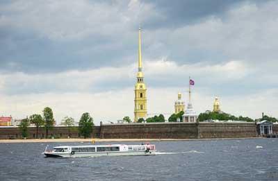 俄罗斯9天游景点_彼得堡罗要塞