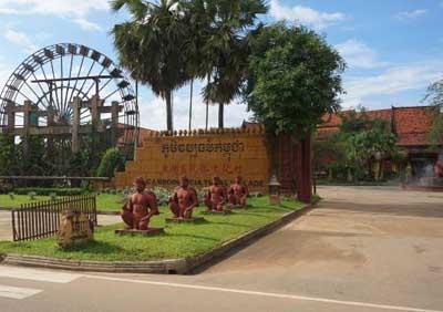 柬埔寨吴哥五天游_民俗文化村