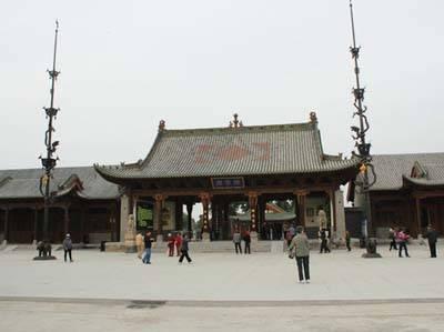 西安旅游景点_关帝庙