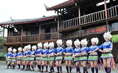 桂林三天游:广西桂林-广西桂林-少数民族观光寨