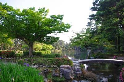 日本6日游-日本兼六园