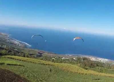 留尼旺-滑翔伞