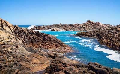西澳8日游:澳大利亚-运河岩石Canal Rock